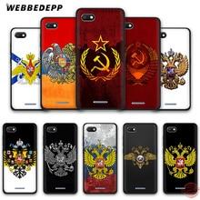 WEBBEDEPP arménie russie drapeau blason coque de téléphone souple pour Redmi Note 8 7 6 5 Pro 4A 5A 6A 4X 5 Plus S2 Go Note 7 étuis Pro
