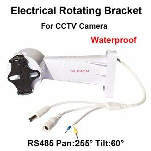 2014 New CCTV PTZ Bracket Electrical Rotating Bracket Wall Mount installation for cctv camera Adjustable rotation holder RS485