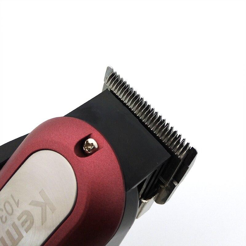 Kemei Professional Hair Trimmer Powerful Electric Hair Clipper Shaver Hair Shaving Machine Hair Cutting Beard Electric Razor enlarge