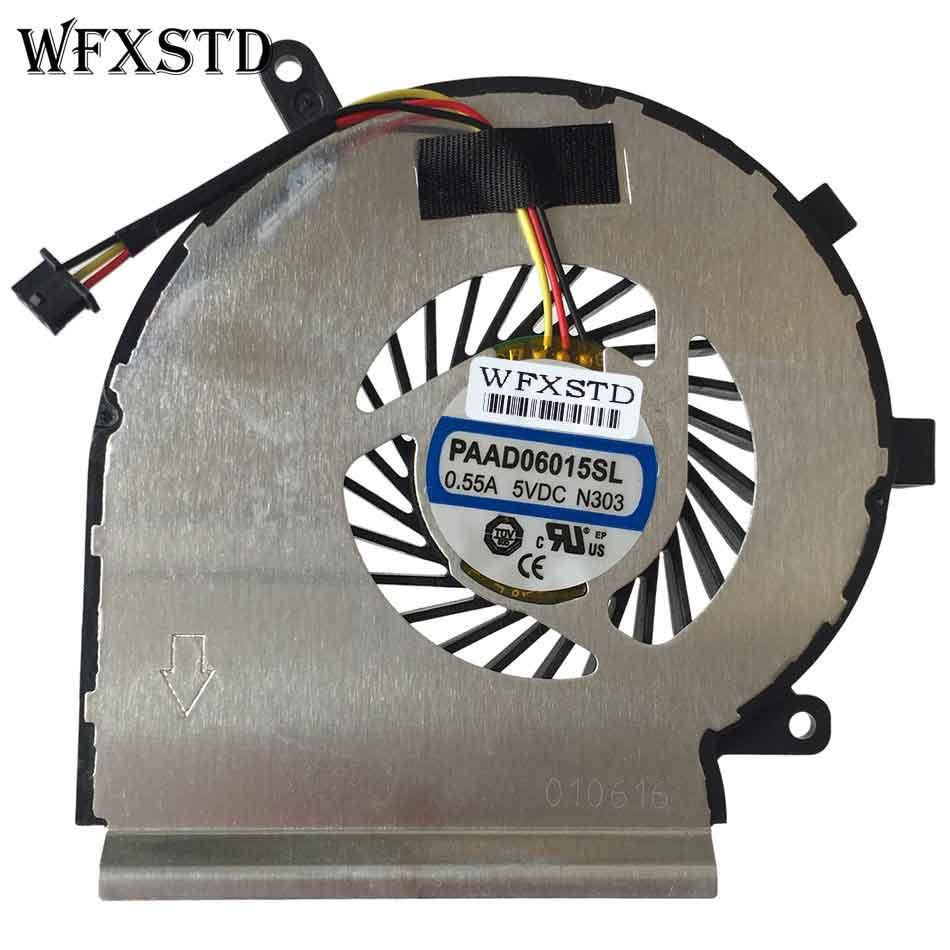 New Original CPU Cooling Fan For MSI GE62 GE72 PE60 PE70 GL62 PAAD06015SL N303 Laptop Cooler Radiators Cooling Fan