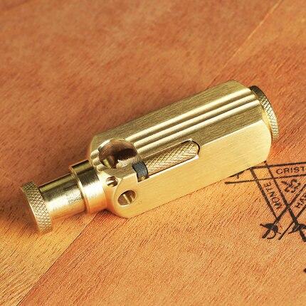 Handmade brass classical oil lighter Men cigarette gasoline briquet Gift  72mm*21mm 155g