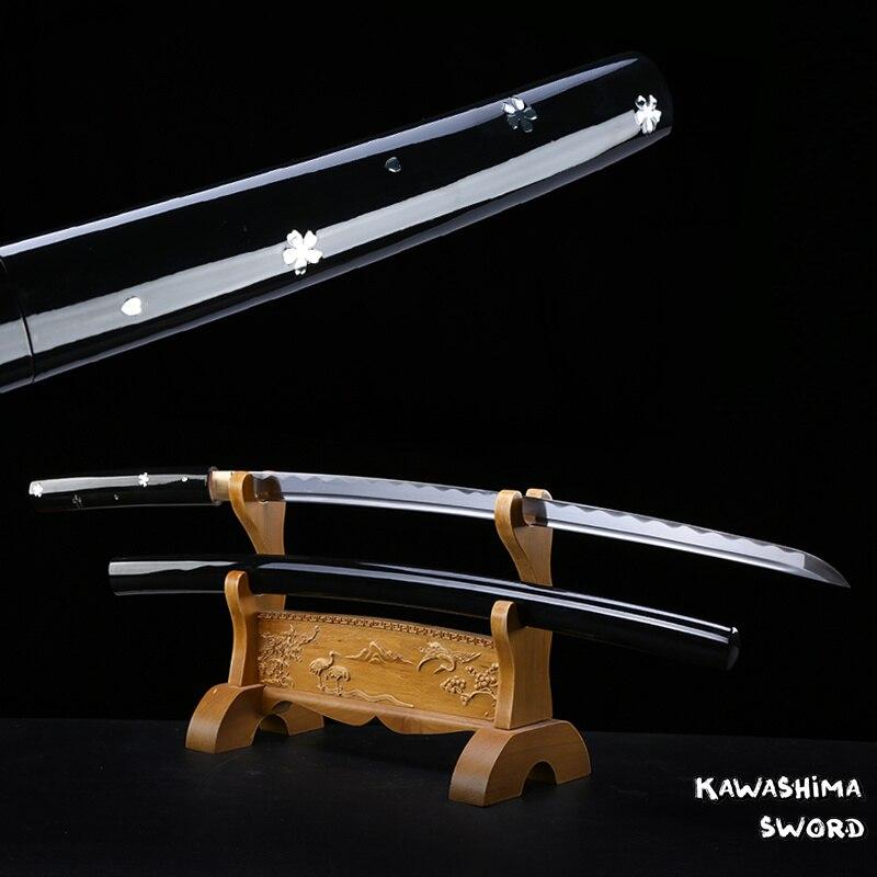Para película Kill Bill o-ren Ishii Handforge Samurai japonés Spirit Katana espada Ninja-1045 acero al carbono nueva marca