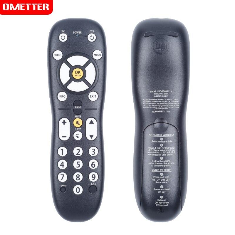 Novo controle remoto adequado para urc universal URC-2068BC1-R RCPUNUR12-1501 lcd led tv controlador