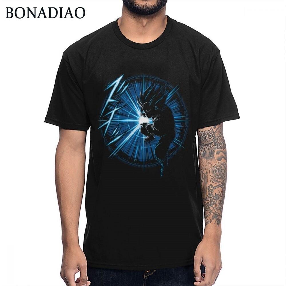 Para hombre Kamei Camiseta de Goku diseño único Camiseta de algodón puro S-6XL tamaño grande Dragon Ball Camiseta