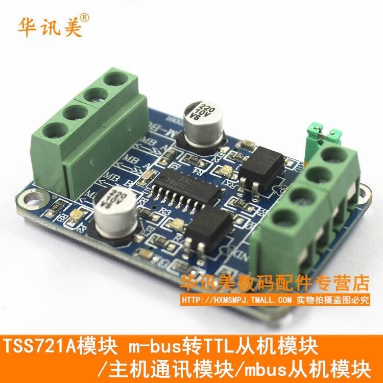 Módulo TSS721A M-BUS a TTL del módulo de la máquina/módulo de comunicación del Host/módulo esclavo mbus