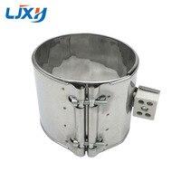 LJXH 120mm Inner Dia. 40mm/45mm/50mm/55mm Height AC110V220V380V Ceramic Band Heater Element Stainless Steel 420W/480W/500W/600W