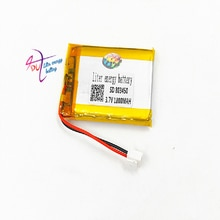 XHR-2P 2.54 1800 MaH 803450 3.7V polymeer batterij telefoon 853448 803550 kleine pudding