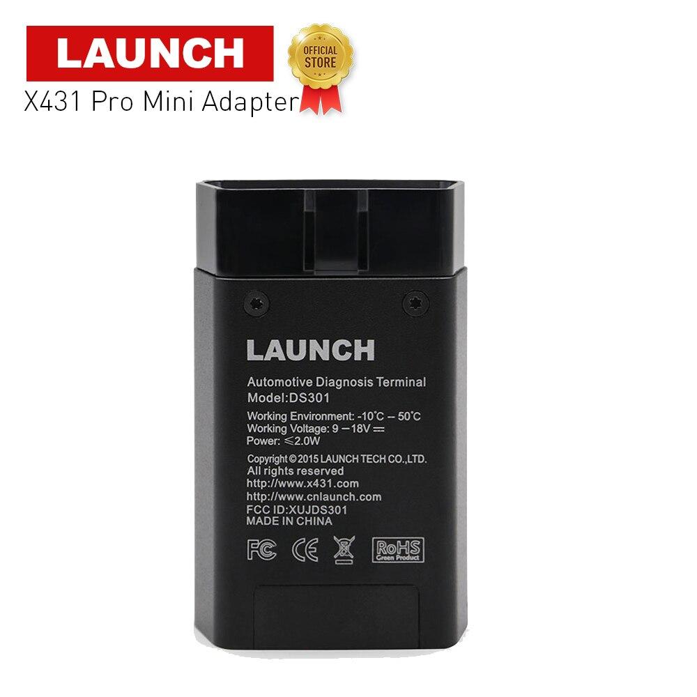 Launch oficial X431, adaptador para Pros mini y Pro mini