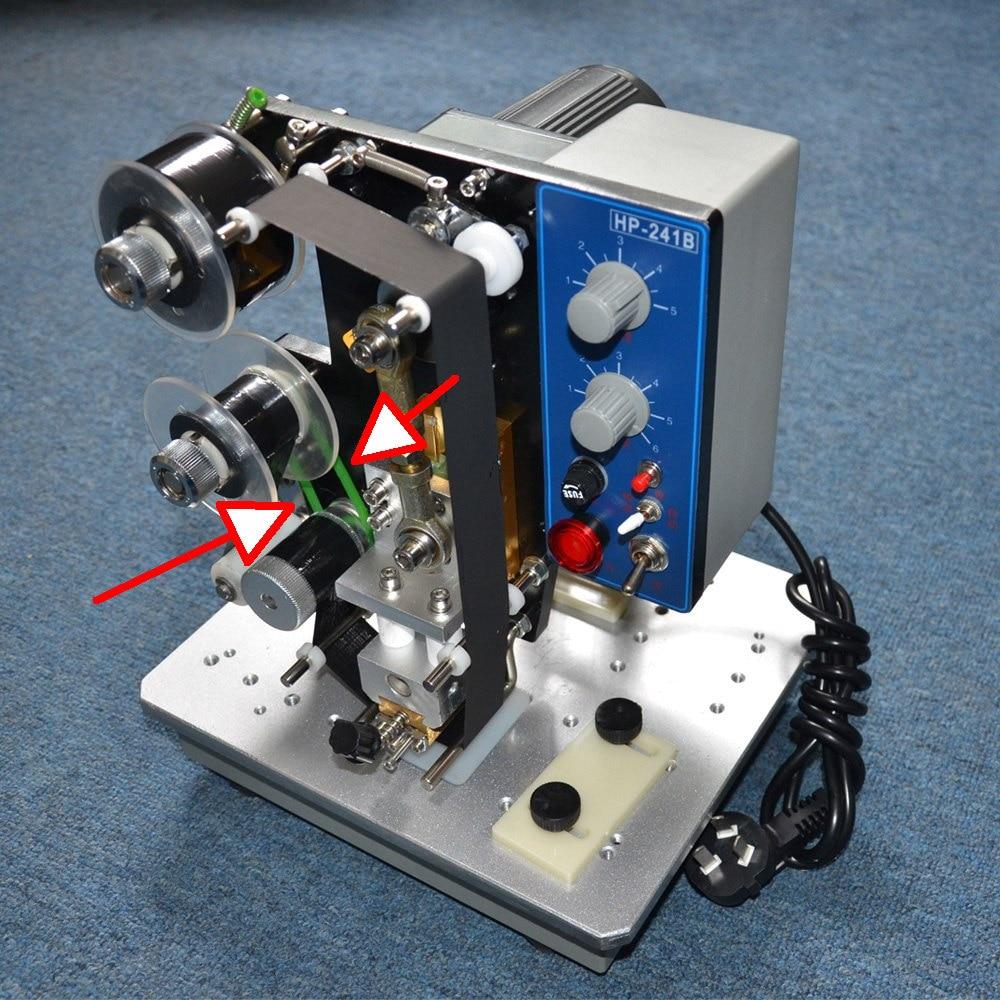 241B tipo fita data máquina de codificação em lote de peças de reposição em sacos de plástico