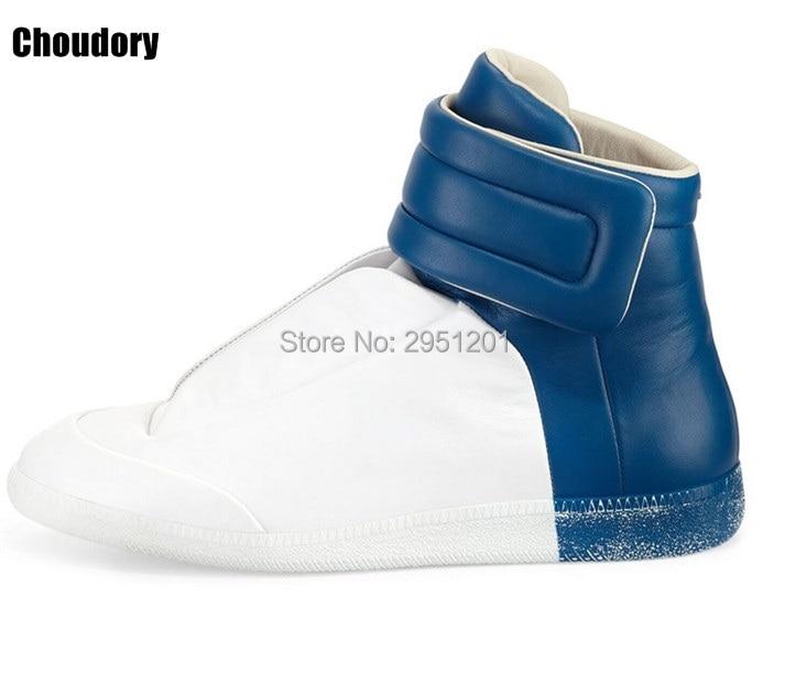 حذاء رجالي من الجلد الطبيعي مع أربطة ، حذاء مسطح ، متوفر بـ 28 لونًا ، ذهبي ، أحمر ، فضي ، أسود ، علامة تجارية فاخرة ، غير رسمية