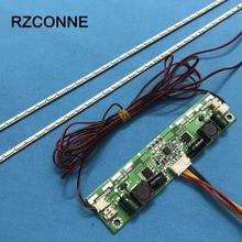 609mm LED rétro-éclairage lampes bande mise à jour Kit plaque en aluminium w/26 -65 onduleur pour 55 pouces LCD moniteur TV panneau haute lumière