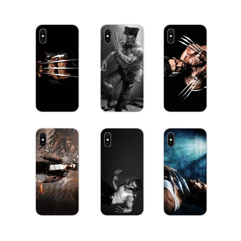 Casos de telefone Capa Para Xiaomi Mi6 A1 5X 6X Redmi Nota 5 5A 4X 4A 4 3 Pro Plus pocophone f1 Filme X-Men Super Herói wolverine logan