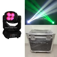 2lightflight caselights project beam 4x25 led moving head beam moving head 4 25 flight case led supber beam