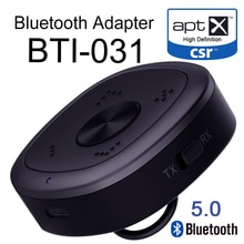 Bluetooth 5,0 Sender Empfänger 2-in-1 Wireless-Audio-Adapter 3,5mm 3,5 AUX Jack für TV PC telefon