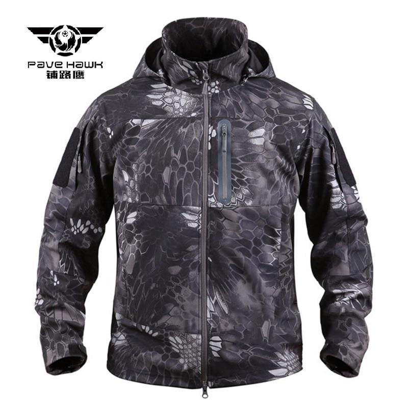 Chaqueta táctica militar Softshell para hombre, abrigos deportivos con capucha de secado rápido para hombre, chaqueta impermeable a prueba de viento, ropa de exterior para hombres