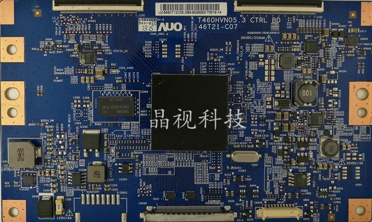 Placa lógica Original UA50F6100AJ T460HVN05.3 CTRL BD 46T21-C07