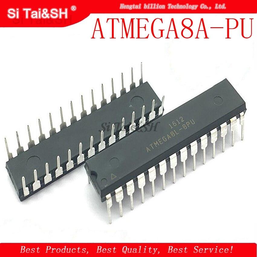 1 шт./лот ATMEGA8A-PU ATMEGA8L-PU ATMEGA8L ATMEGA8A ATMEGA8 DIP-28 8-битный с 8K байтами в системе программируемая вспышка