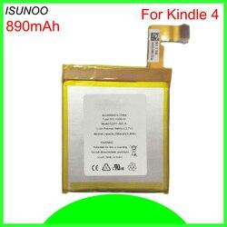 ISUNOO Bateria Móvel Para Kindle 4 5 6 D01100 515-1058-01 MC-265360 S2011-001-S