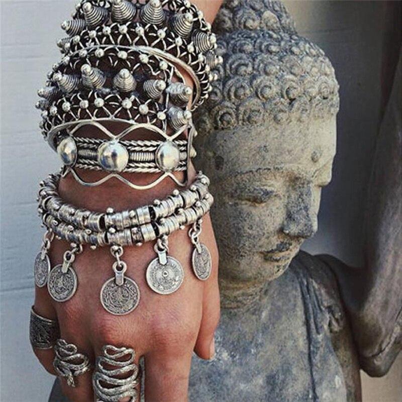 Двухслойный браслет Ztech для лучшего друга, браслеты из сплава с подвеской, винтажные украшения в богемном стиле