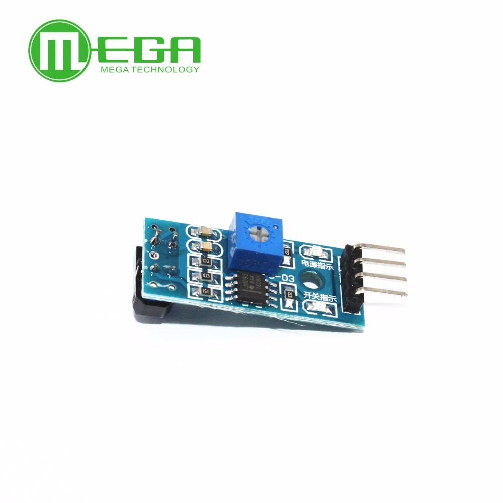 10 unids/lote TCRT5000 infrarrojos de reflectancia de sensor módulo evitar obstáculos de sensor de módulo