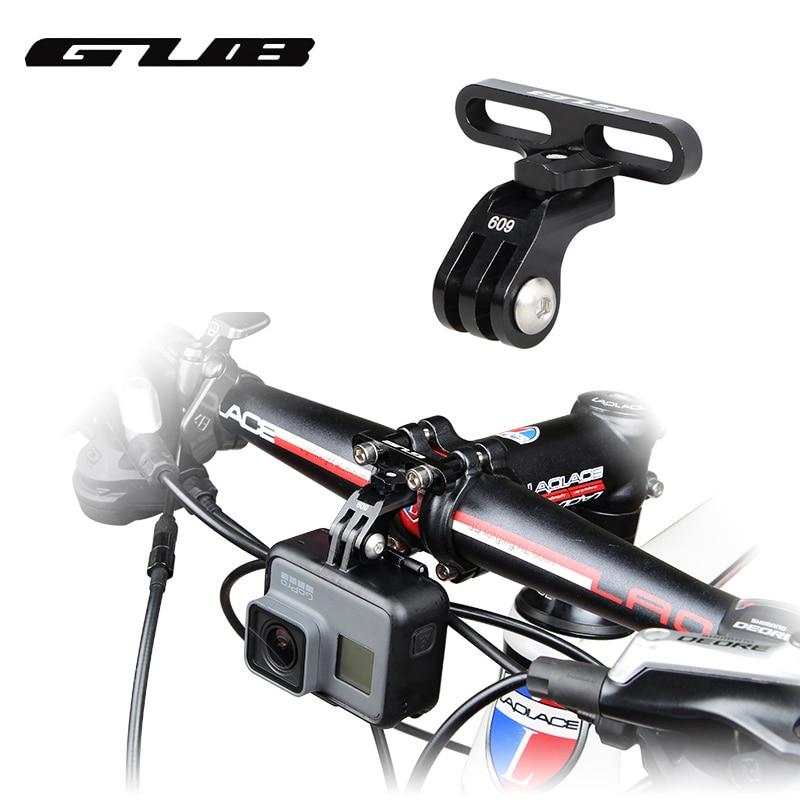 GUB 609 Aluminium Fahrrad Halter Adapter Für GoPro Kamera Licht Lampe Rack Zubehör Digital Kameras Bike Stem Halterung
