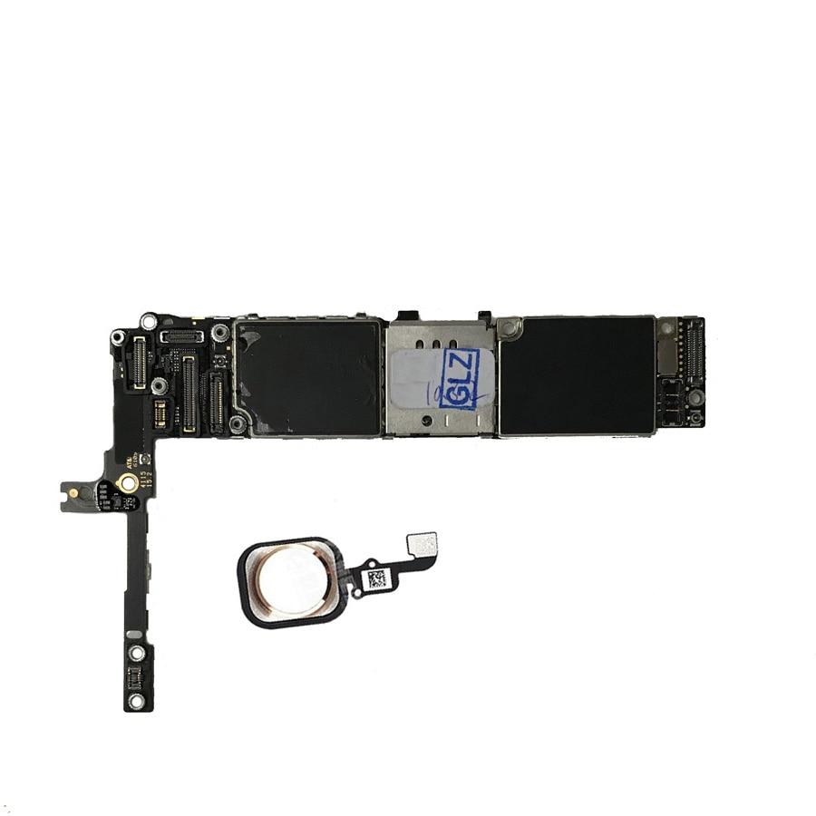 Original  unlocked for iphone 6s plus 6sp Mainboard with / without Touch ID 16GB 64GB 128GB for iphone 6s plus Motherboard enlarge
