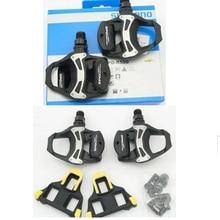 Shimano pedales SPD-SL PD-R550 negro/plata/blanco carretera pedales de bicicleta de la bici de pedal