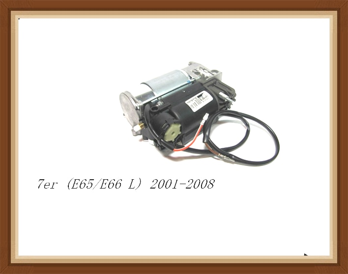 Rebuild Fit  For Bmw Car 7er  E65  E66  L 2001-2008  5-series 5 Series Air Suspension Compressor Pump