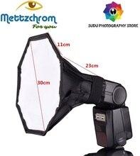 Universal 30cm Octagon Studio Flash Softbox For Nikon Godox Yongnuo Canon Speedlite Softbox