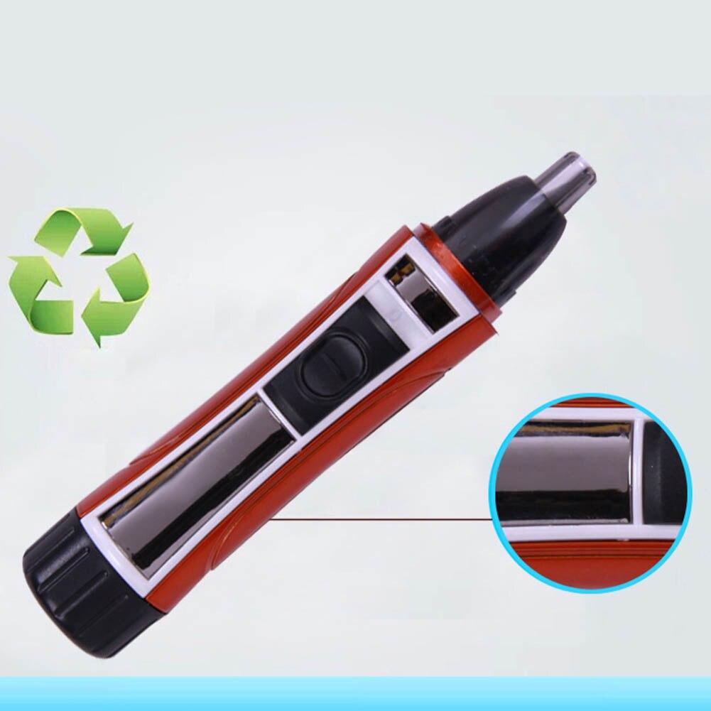 Removedor de vello de nariz eléctrico Dropshipping, removedor de vello lavable, afeitadora, cortadora, limpiador SMJ