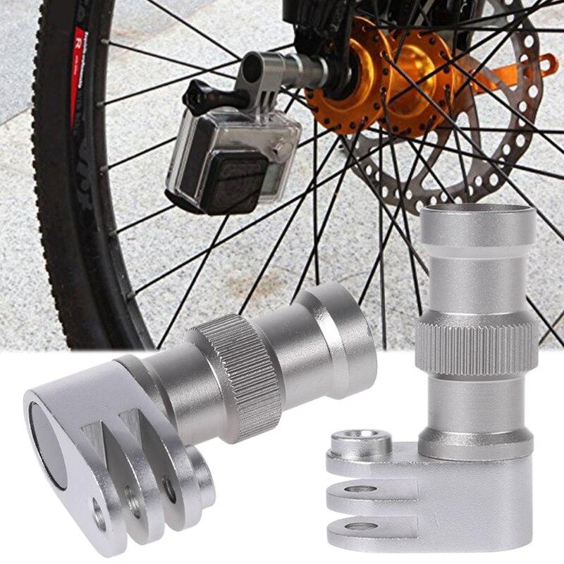 Высокое качество велосипед ось крепление колеса фиксированный Braceket аксессуары камера для Gopro Hero 5/4/3 Новый