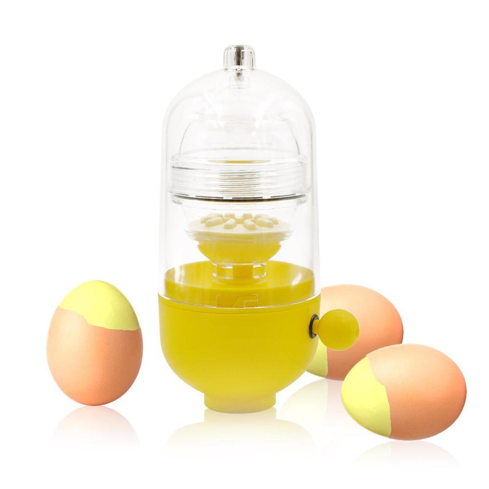 Máquina de hacer pudín de huevo, batidor de huevos, batidor de huevos dorados con cáscara