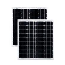 Panneau solaire 12v 50w 2 pièces panneaux monocristallins Solares 100w 24v chargeur de batterie solaire Voiture caravane toit Smartphone Voiture