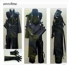 Nouveau! Costume uniforme Anime Final Fantasy VII Cloud FF7 AC Costume de jeu Cosplay sur mesure toute taille livraison gratuite
