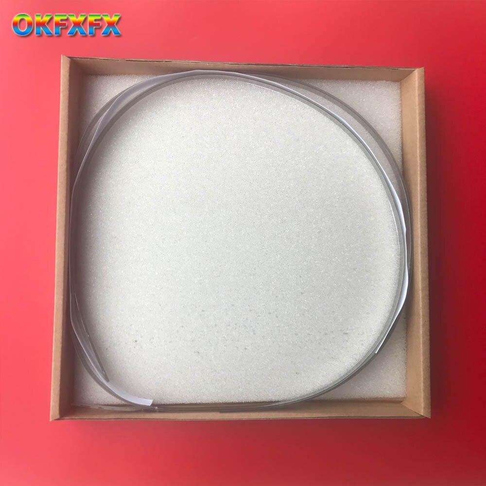 "C7769-60183 24 ""C7770-60013 42"" para hp DesignJet 500 510 800 500PS cinta codificadora (con tira de metal, correa de acero) Piezas de plotter"