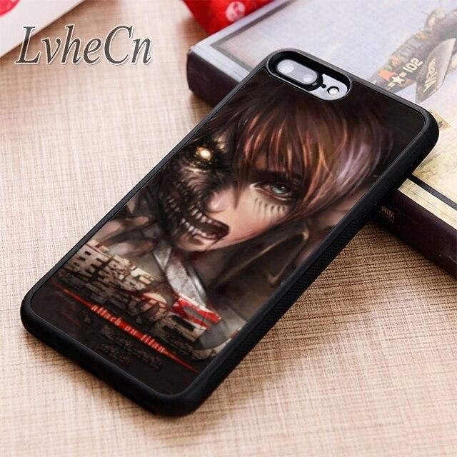 LvheCn Shingeki no Kyojin Attack on Titan Manga Anime Comic Levi phone Case For iPhone 11 Pro X XR XS MAX 6 7 8 Plus samsung