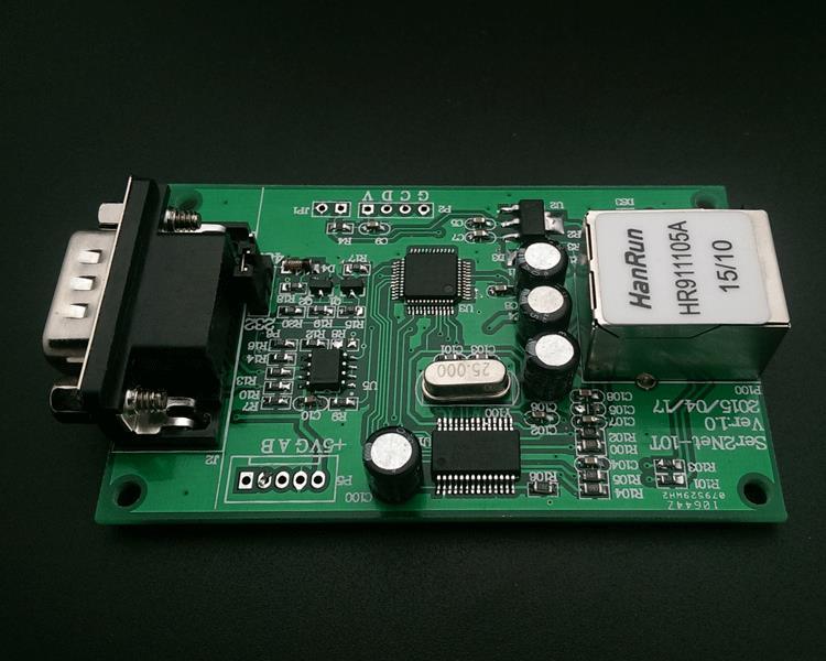 para o Servidor de Porta Serial Comutou Ethernet Rs232 Rs485