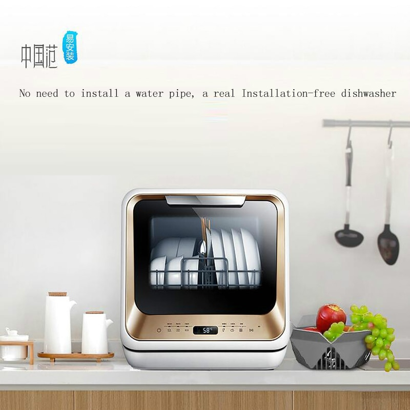 Hogar automático lavavajillas de agua manual injectionInstallation-máquina lavavajillas