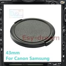 43 43mm bouchon dobjectif remplacer E-43 pour Canon EF-M 22mm f/2 STM Samsung 16mm F2.4 / 45mm F1.8 / 16mm F2.4 / 20mm F2.8 / 30mm F2.0