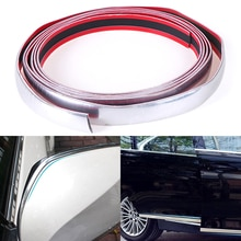 12mm*3m/22mm*3m Tape Auto DIY Body Bumper Protect Sticker Car Chrome Styling Decoration Moulding Trim Strip