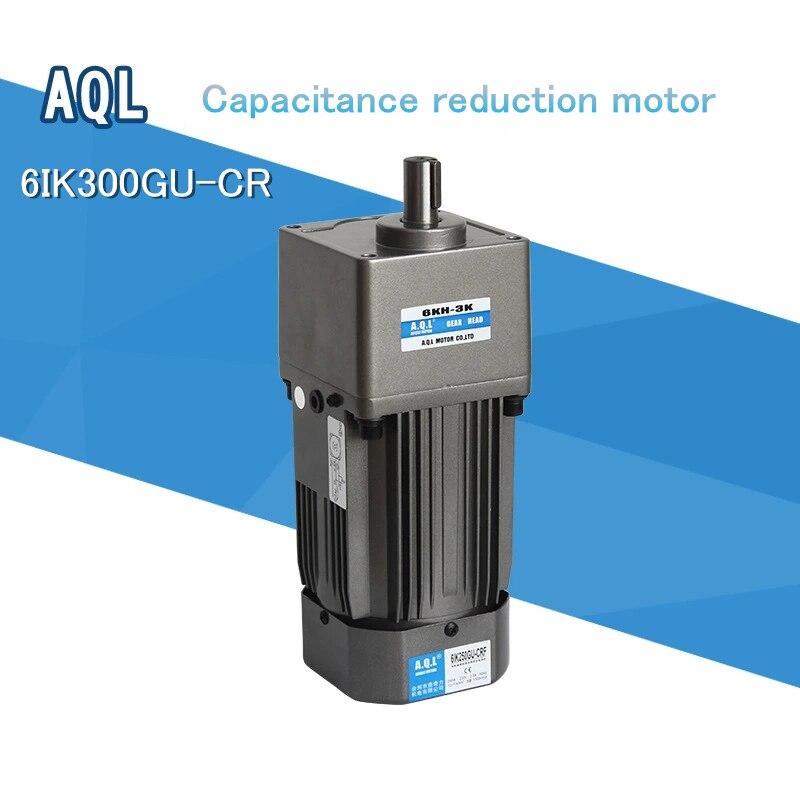 6ik300gu-cr 300 w 250 w 220 v motor da redução da engrenagem/motor da redução da capacidade da caixa de engrenagens aql