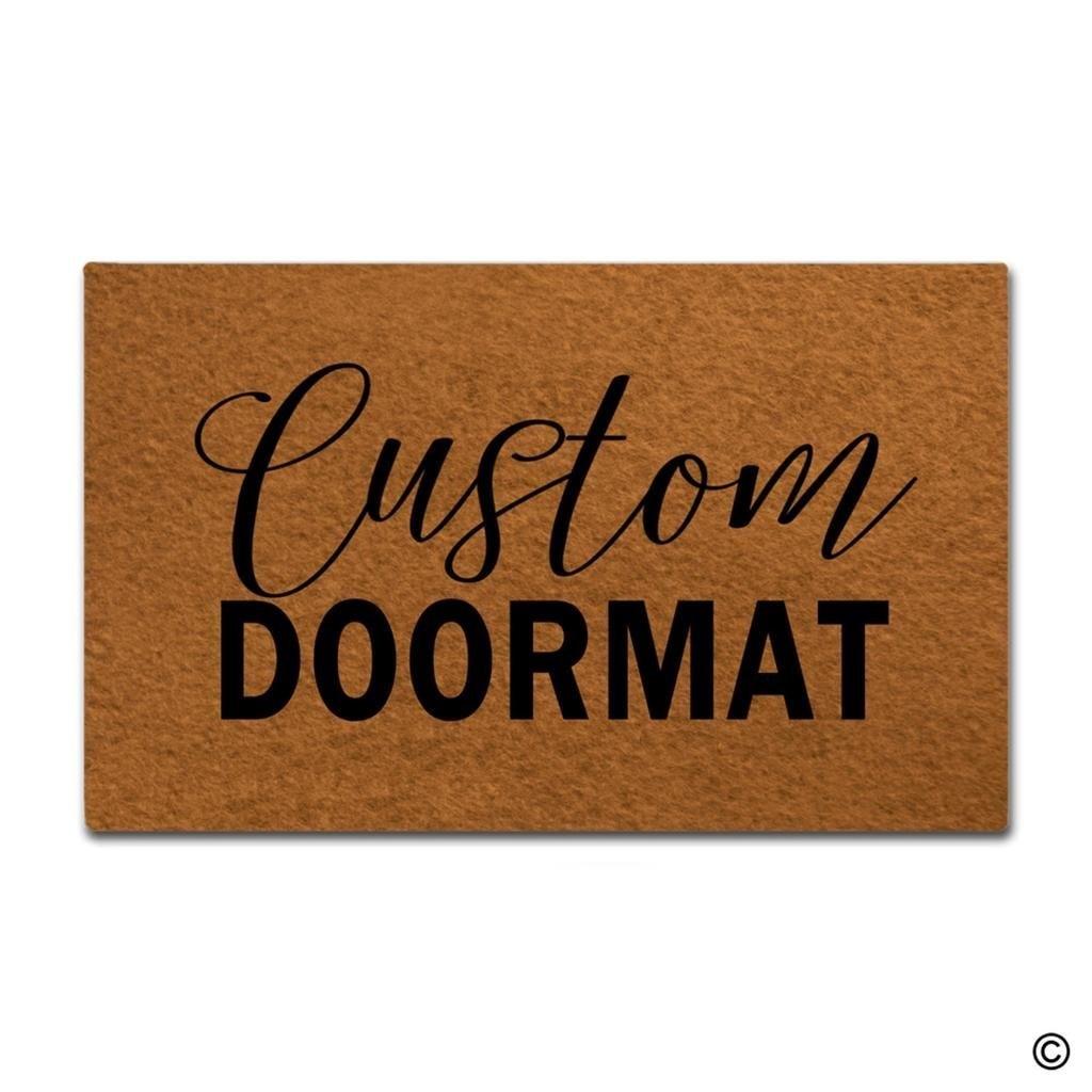 Tür Matte Eingang Matte Custom Fußmatten Lustige Eingang Boden Matte Non-slip Fußmatte 18 durch 30 Zoll Maschine Waschbar