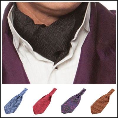 SHENNAIWEI New high quality Paisley Floral Ascot Cravat Casual Jacquard Ties Ascot Cravat Tie ботинки front by ascot front by ascot fr009amcjuc5