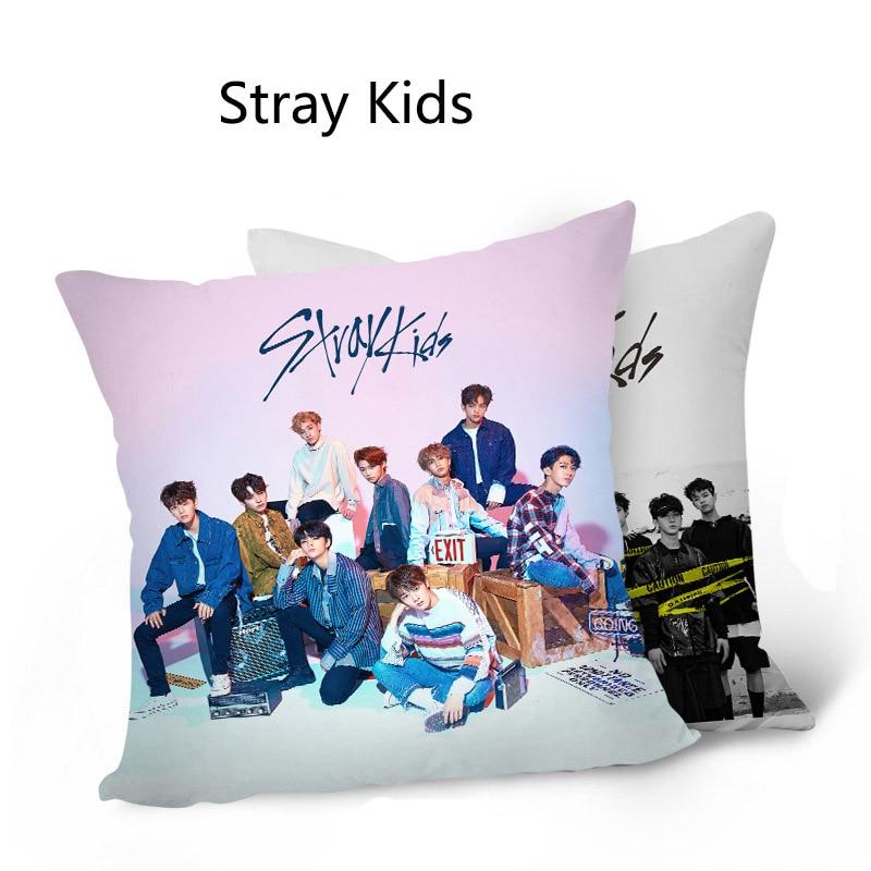 Stray Kids new album pictorial photo sofa car waist cushion cushion double-sided pillow