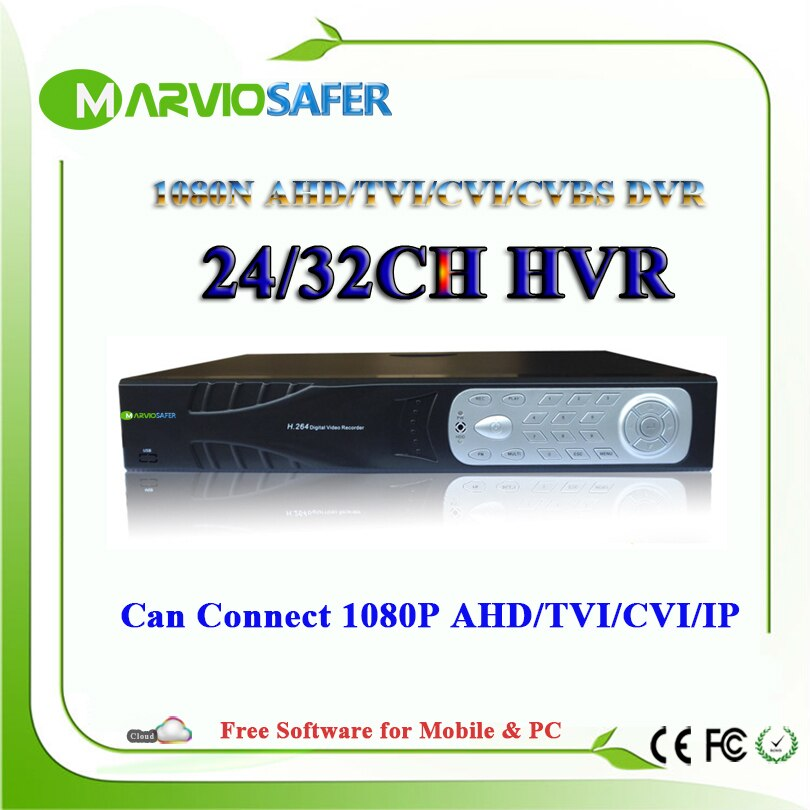 24ch 32ch 24/32 قناة AHD CVI TVI DVR XVR 1080N كامل HD مسجل فيديو 1080P HDMI إخراج كاميرا CCTV AHD مسجل Camara