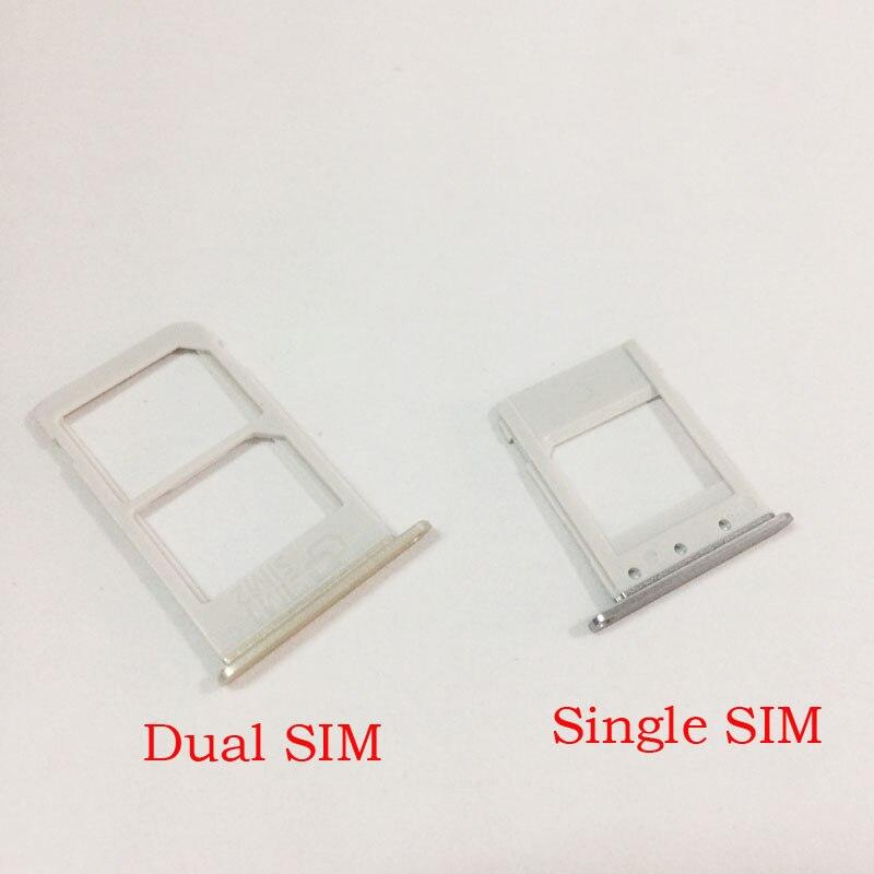 Adaptador de soporte de bandeja SIM para Samsung Galaxy Note 5 individual/tarjeta SIM dual bandeja de lectura soporte ranura reemplazo