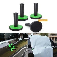 FOSHIO 4pcs Strong Car Magnetic Holder Vehicle Wrap Vinyl Film Fixing Tool Window Carbon Fiber Car Sticker Magnet Holder Fixer