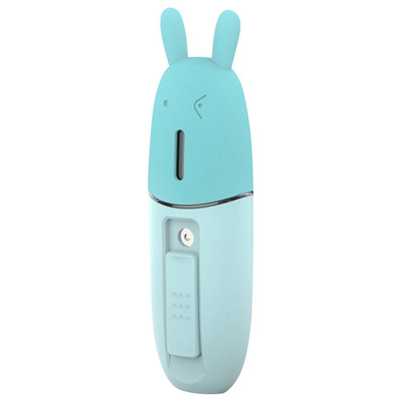 Humidificador Facial portátil Usb, Mini humidificador ultrasónico de mano, generador de niebla, difusor de vapor Facial