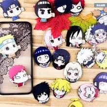 1PC acrylique Anime Naruto Kakashi broches sac à dos kakashi conseils broche Badge vêtements broches broches sac décor broche Badges