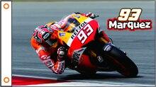 Флаг мотоцикла баннер HONDA Marquez 93 флаг 3x5ft полиэстер 01
